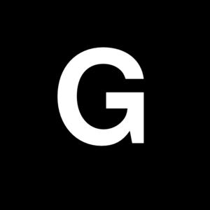 White Letter G Clip Art