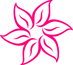 Pink Flower 7 Clip Art