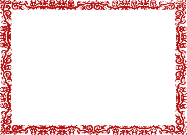 Red Frame Mjb Clip Art at Clker.com - vector clip art online ...