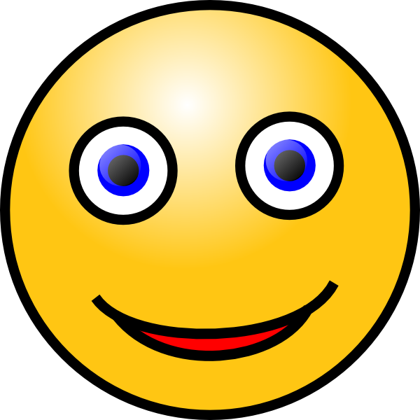 Big Smile Face Clip Art Free Vector Download Pictures to pin on ...
