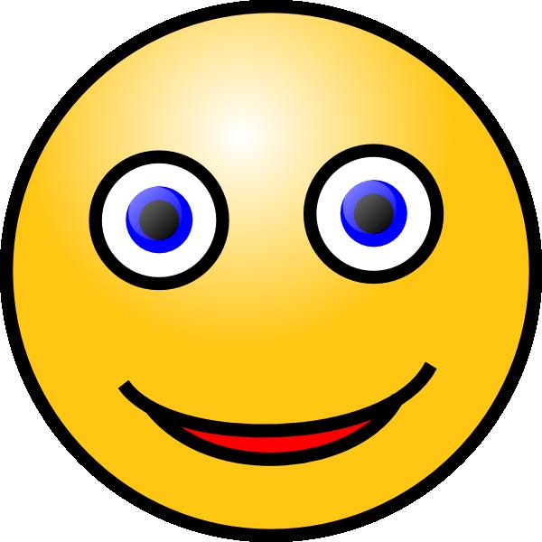 Happy face clip art at clker com vector clip art online royalty