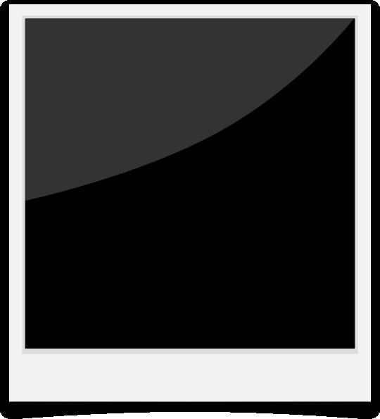 Polaroid border. Frame clip art at