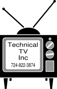 Technical Tv Logo Clip Art