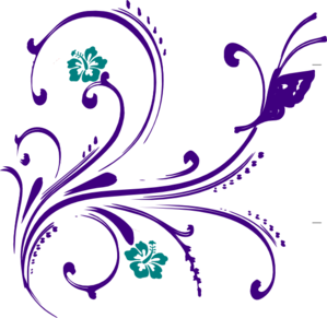 Shared By  Emily Eng 07-16-2012Flower And Butterfly Border Clip Art