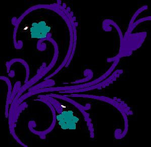 Free Butterfly Swirl Clip Art