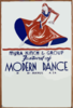 Festival Of Modern Dance - Myra Kinch & Group Music By Manuel Galea. Clip Art