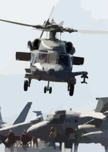 A Ch-60  Sea Hawk  From The Clip Art
