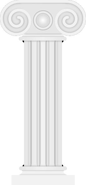 antique pillar clip art at clkercom vector clip art