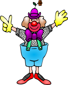clown clip art at clker com vector clip art online royalty free rh clker com free clown clip art to print free clown clip art to print