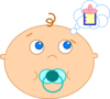Hungry Baby Clip Art