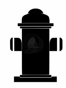 Outline Of Fire Hydrant Clip Art