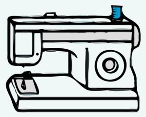 Clip Art Sewing Machine Clip Art sewing machine clip art at clker com vector online art