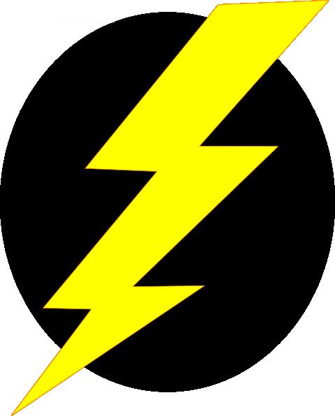 lightning icon again    clip art at clker com