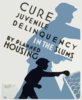Cure Juvenile Delinquency In The Slums By Planned Housing Clip Art