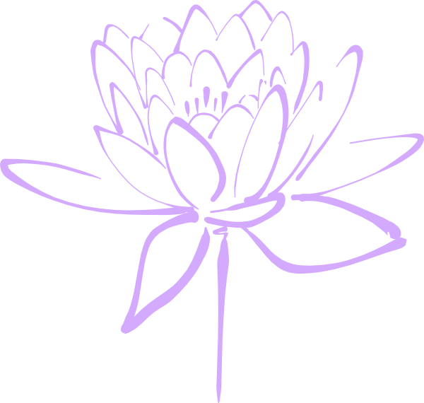 purple flower haily clip art at clker  vector clip art online, Beautiful flower