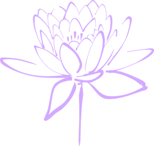 Purple Flower Haily Clip Art