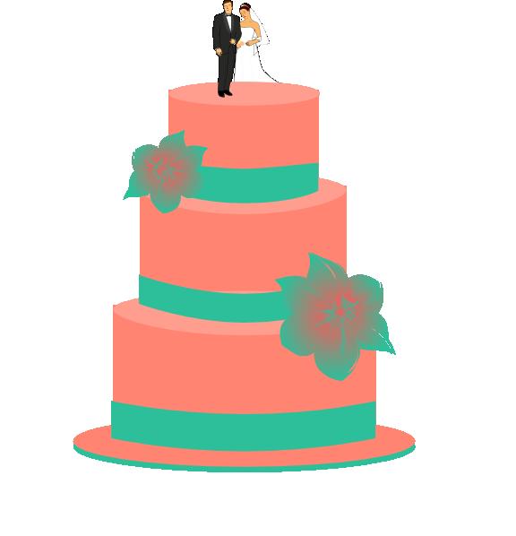 Wedding Cake Clip Art at Clker.com - vector clip art ...
