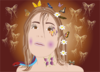 Fairy With Butterflies Clip Art