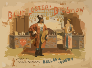 Billy Lester S Big Show Clip Art