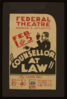 Counsellor At Law  By Elmer Rice Clip Art