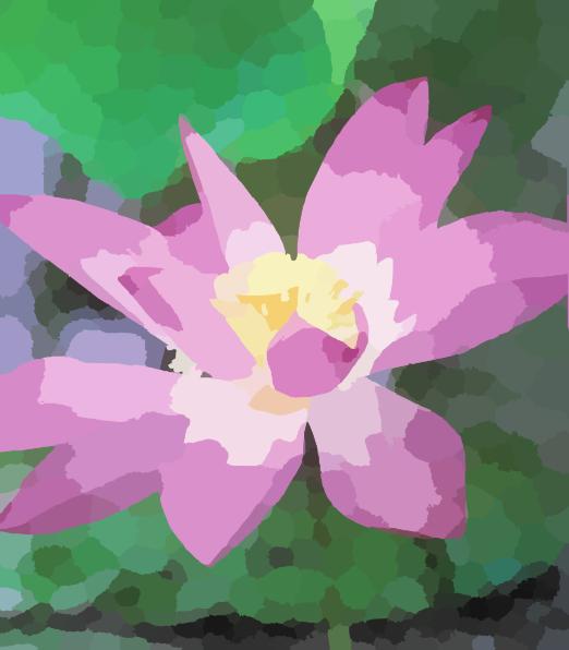 free blue lotus flower clip art - photo #49