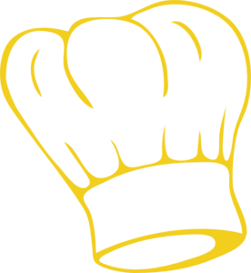 Chef Hat Gold Clip Art