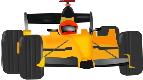 Race Car Clip Art at Clker.com - vector clip art online, royalty free ...