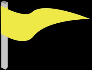 Flag yellow. Clip art at clker