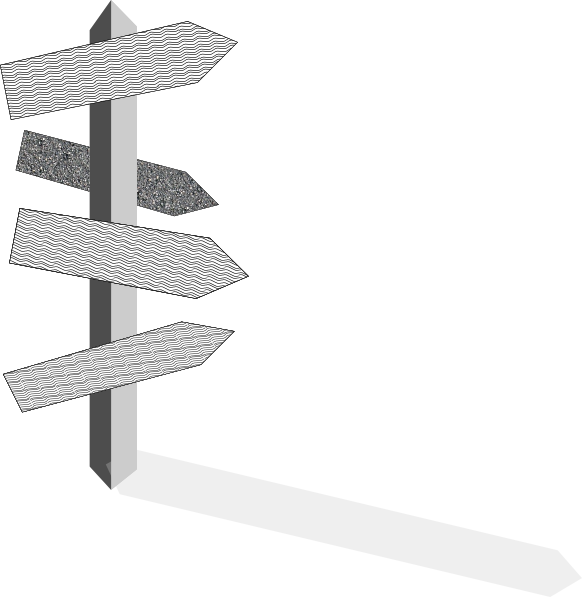 Street Sign Post Clip Art at Clker.com - vector clip art online ...