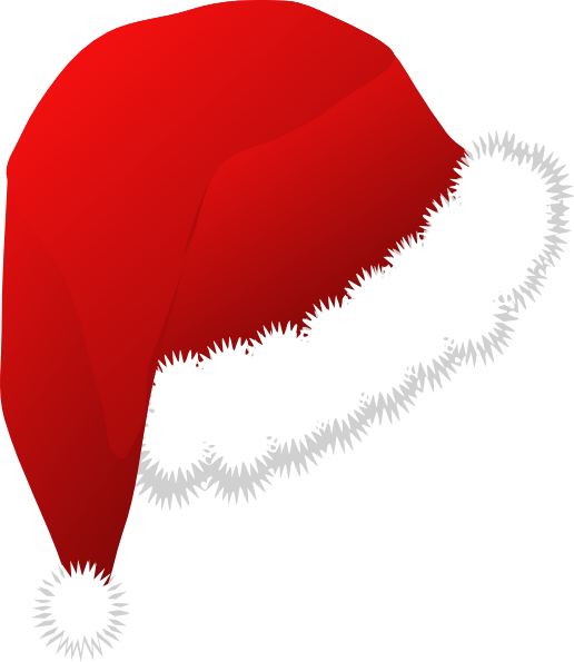 clipart christmas hat - photo #16