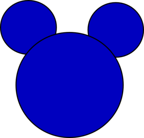 Mickey Mouse 3 Clip Art