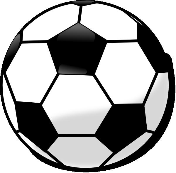 Soccer Ball Clip Art At Clkercom Vector Online Royalty Free amp Public Domain