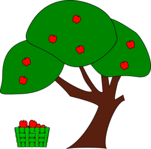 Apple Tree 2012 Clip Art