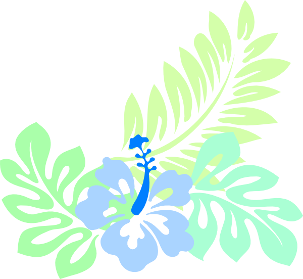 Hawaiian Blue Clip Art at Clker.com - vector clip art ...