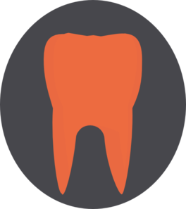 Orange Tooth3 Clip Art