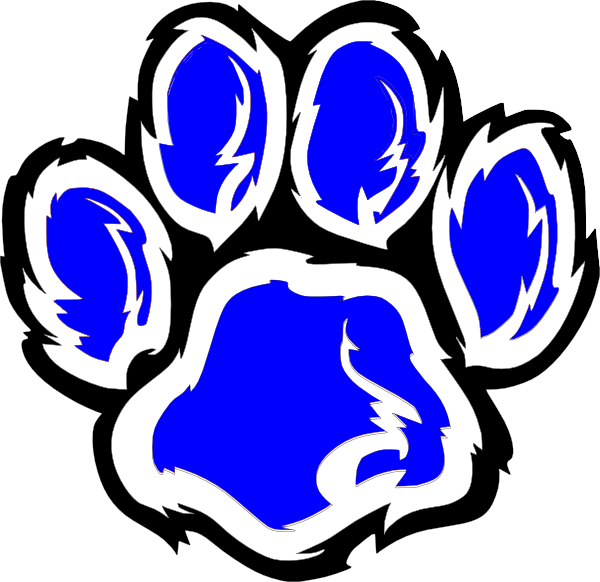 wildcat paw clip art at clker com vector clip art online Wildcat Art Wildcat Football Clip Art
