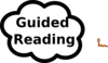 Guided Reading Sign Clip Art