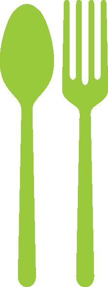 Fork And Spoon Clip Art at Clker.com - vector clip art ...