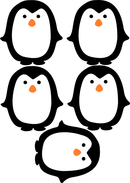 Simplicity image regarding penguins printable