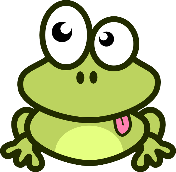 Cartoon frog - photo#1