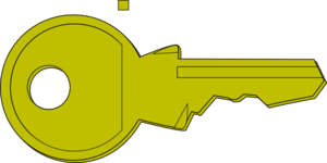 Key For The Lock Clip Art