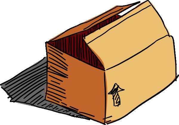 cardboard box clip art at clker com vector clip art online rh clker com box openclipart box clipart png