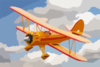 Flying Plane Clip Art