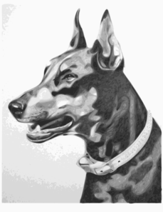 Dog Portrait Clip Art