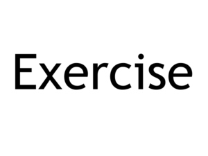 Exercise Forever Clip Art