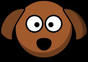 dog head cartoon clip art at clker com vector clip art online rh clker com dog face clipart black and white sad dog face clipart