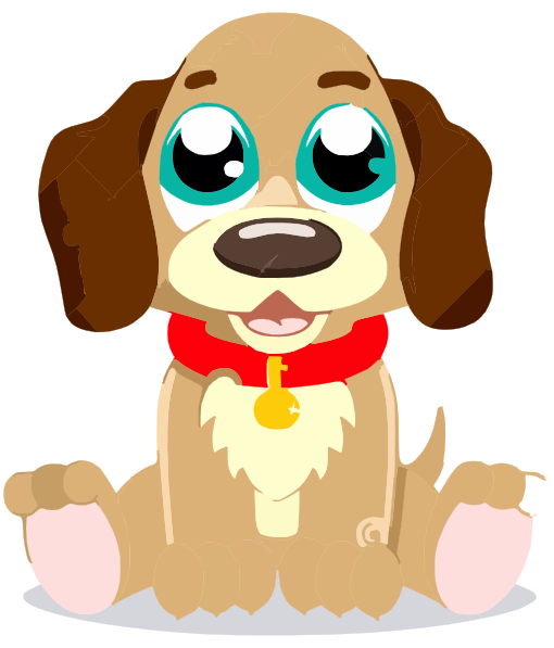 cute cartoon puppy clip art at clker com vector clip art online rh clker com cute puppy clipart puppy clipart cute