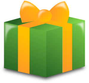 Wrapped Present Clip Art