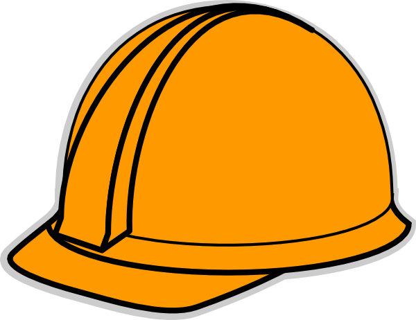 White Hard Hat Clipart