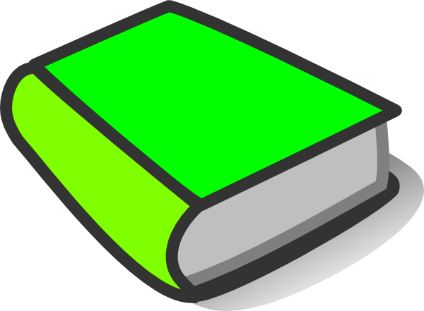 Green Book Reading Clip Art at Clker.com - vector clip art ...